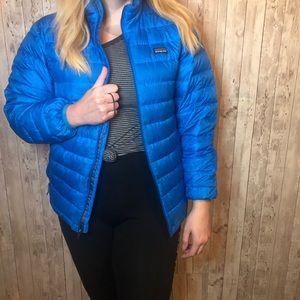 Patagonia Blue Nano Puff Thermal Puffer Jacket